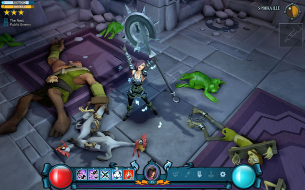 The Mighty Quest for Epic Loot Halloween Puertas Abiertas