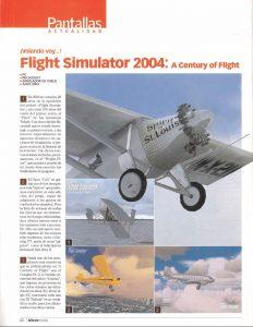 Pantallas Flight Simulator 2004 - Microsoft