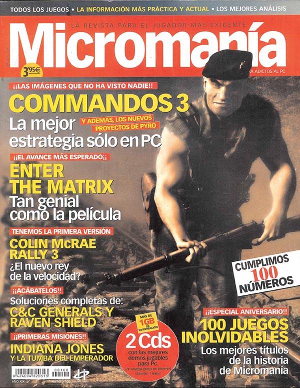 MICROMANIA 100 MAYO 2003