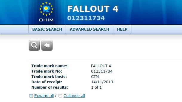 Fallout 4: Bethesda registra la marca en Europa