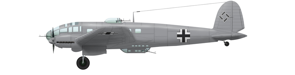 Battle of Stalingrad - He 111 H-6