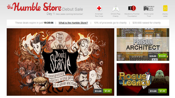 The Humble Store: grandes ofertas individuales
