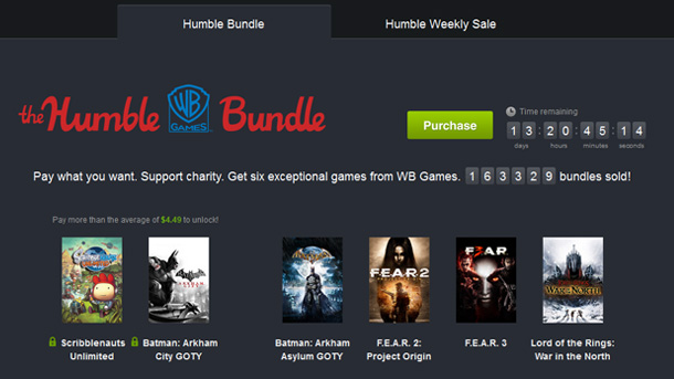 The Humble WB Games Bundle: paquete espectacular