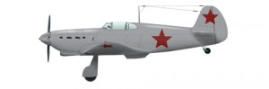 Battle of Stalingrad - Yak-1