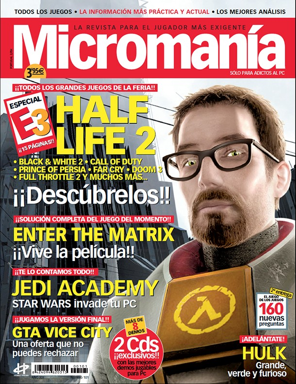 MICROMANIA 101 - EPOCA 3 - JUNIO 2003