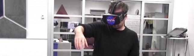La NASA prueba Oculus Rift