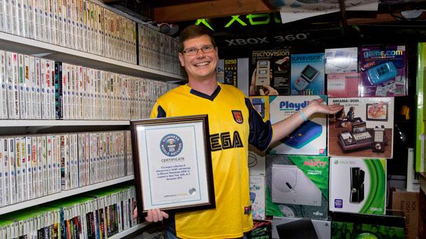 Récord Guinness: una colección de 10.607 juegos