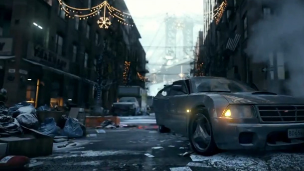 The Division: así luce el Snowdrop Engine