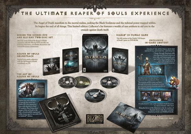 Diablo III Reaper of Souls Edición Coleccionista