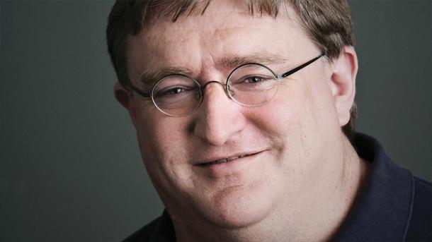 Mirad qué cara de satisfacción ha puesto Gabe Newell, que sabe que su plataforma sigue siendo la reina de la distribución digital de videojuegos.