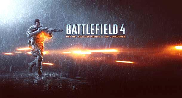 Mes del agradecimiento a los jugadores en Battlefield 4