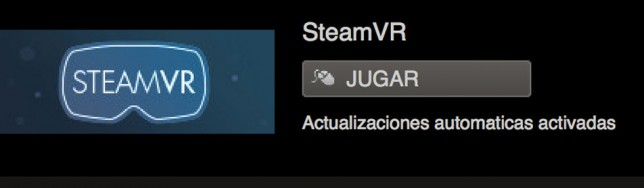 SteamVR ya disponible