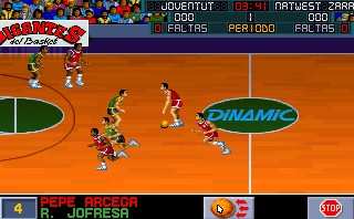 PC Basket - Dinamic Multimedia - DOS