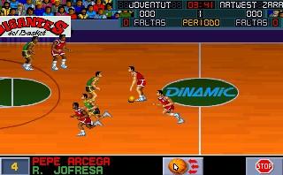 PC Basket - Dinamic Multimedia - DOS