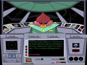 Where is Carmen Sandiego in Space? - Brøderbund Software - DOS
