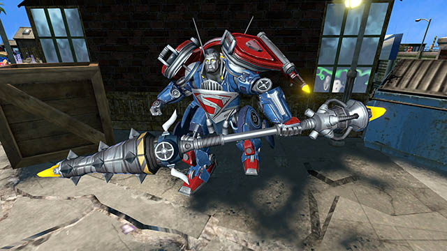 Infinite Crisis - Turbine - Mecha Superman