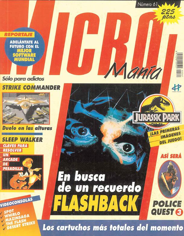MICROMANIA 61 Segunda EP Junio de 1993