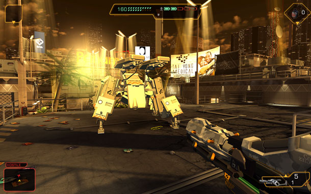 Deus Ex The Fall llega al PC