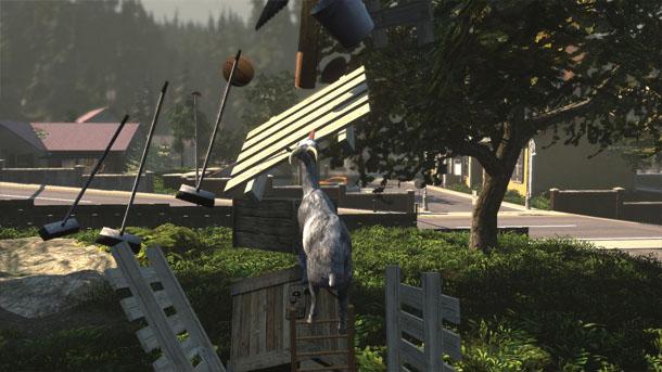 Goat Simulator: simulador para hacer el cabra