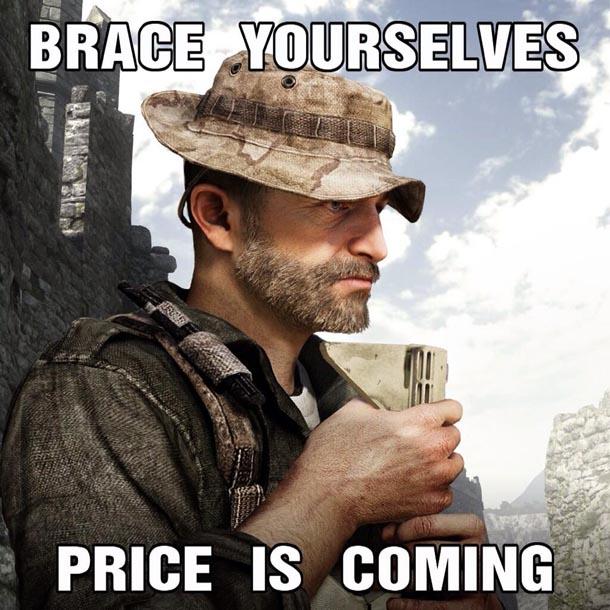 Infinity Ward: el Capitán Price vuelve a CoD