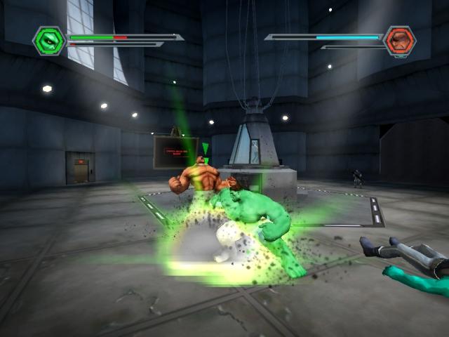 Hulk - Radical, VUG - PC, Xbox, GameCube, PS2