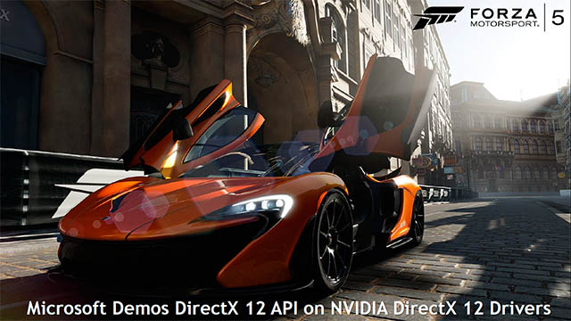 Forza Motosport 5 - DirectX 12 demo - GDC 2014
