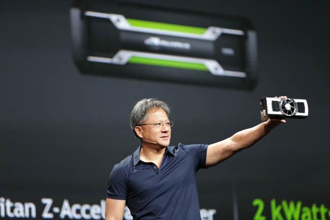 GeForce GTX TITAN Z - Jen-Hsun Huang, CEO de NVIDIA