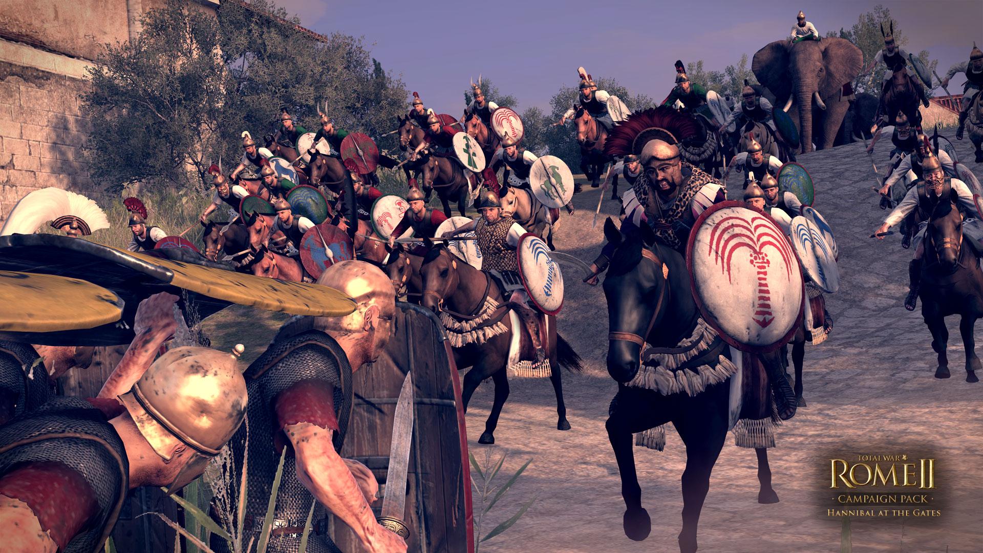 Aníbal a las Puertas, nuevo DLC para Rome II
