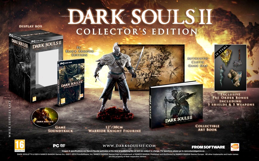 Dark Souls 2 el 25 de abril