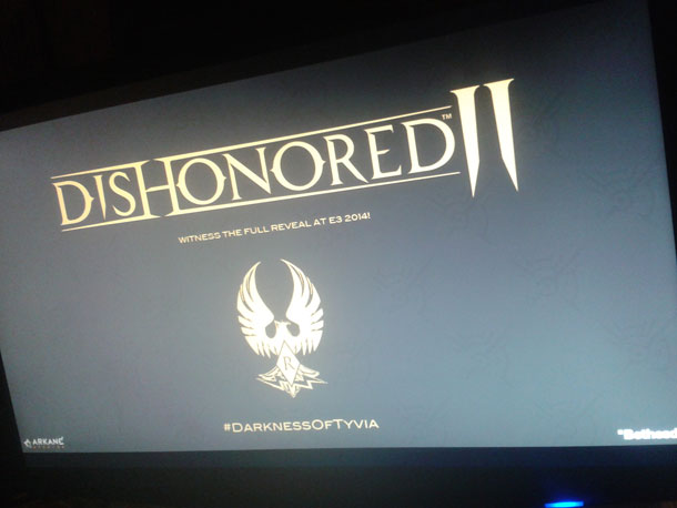 Dishonored II filtrado