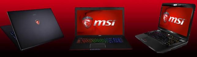 Portátiles MSI Gaming