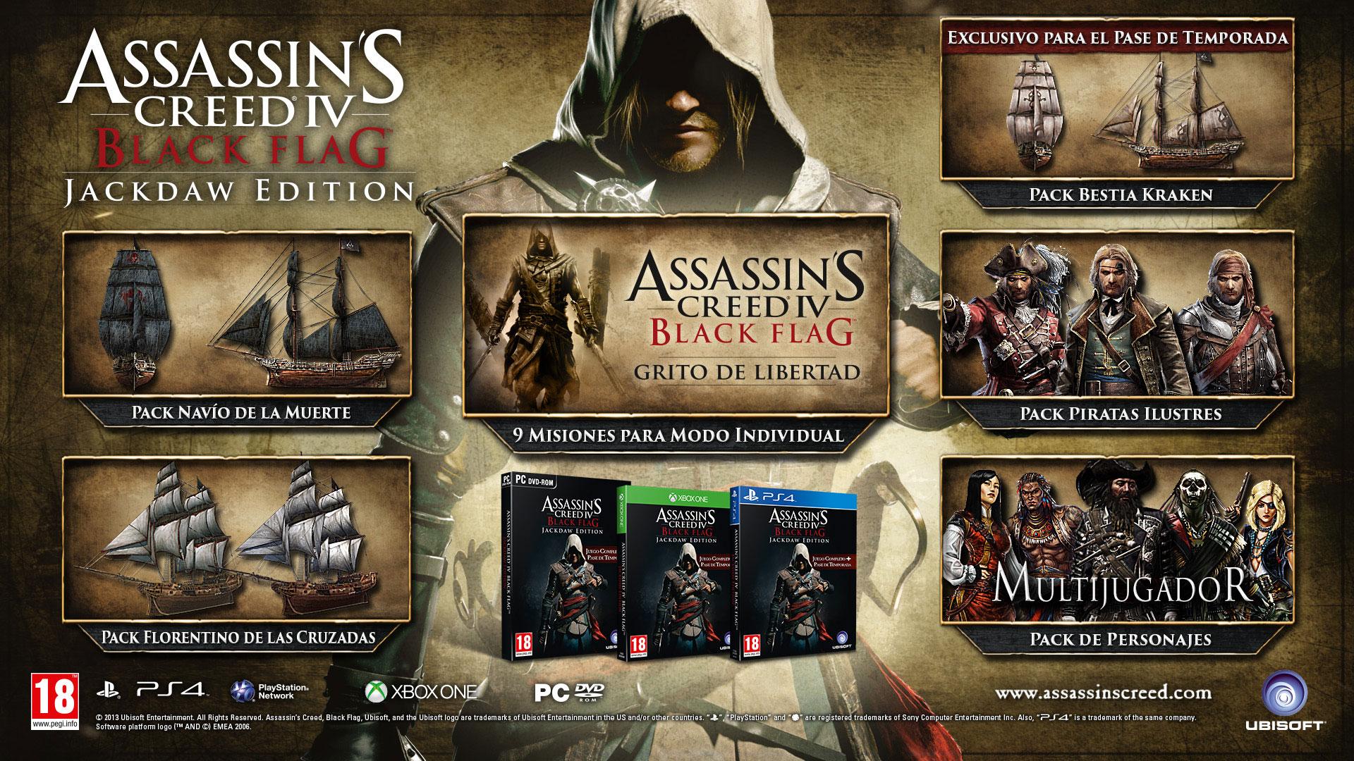 Jackdaw Edition de Assassin's Creed IV Black Flag