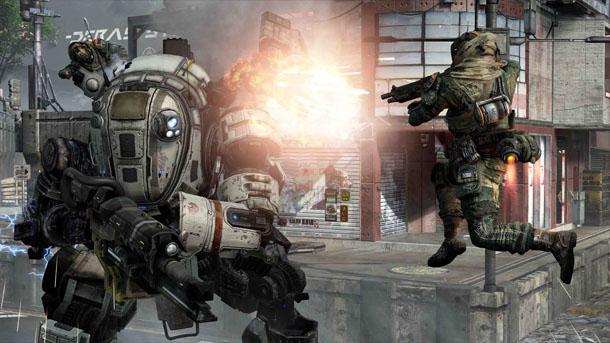 Titanfall: brutal vídeo gameplay de lanzamiento