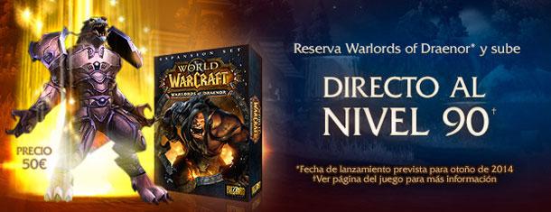 Warlords of Draenor ya se puede reservar.