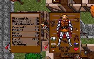 Ultima VII: The Black Gate - Origin Systems (DOS)