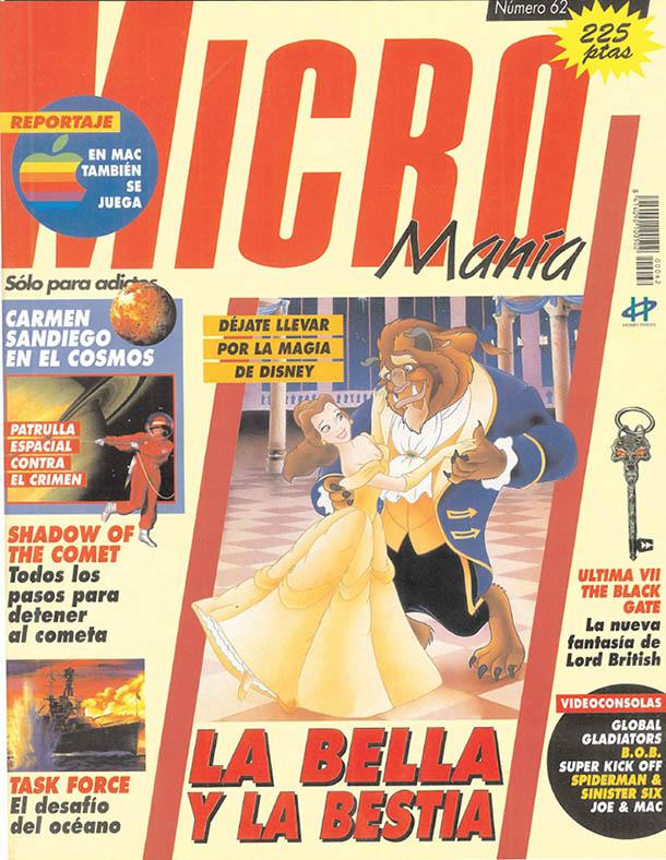 MICROMANIA 62 - JULIO 1993