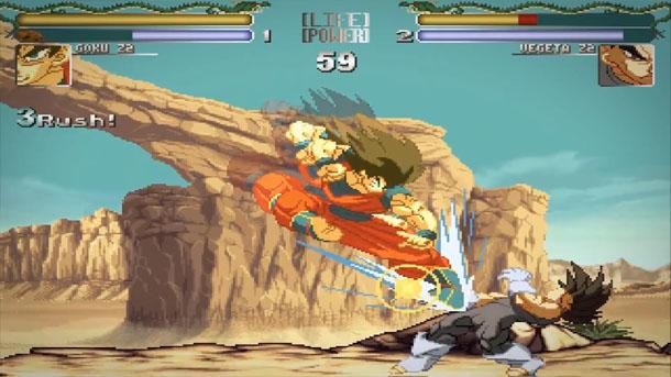 Hyper Dragon Ball Z: espectacular juego de lucha