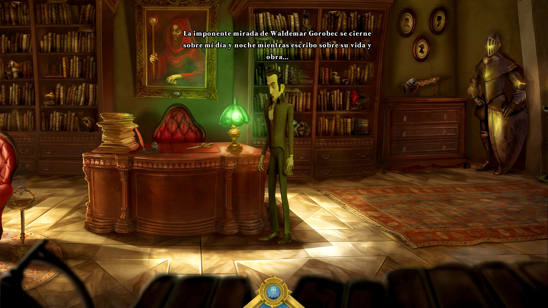"The Weird Story of Waldemar the Warlock, aventura ""granaína"""