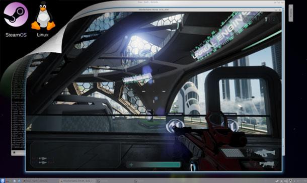 Unreal Engine 4.1 con soporte para SteamOS y Linux