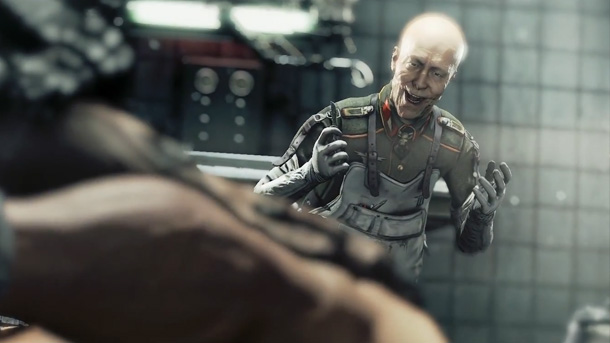 Wolfenstein The New Order: brutal vídeo gameplay