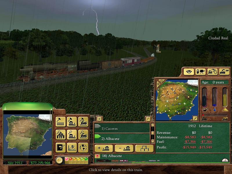 Railroad Tycoon 3 - Poptop GoD - Mac, PC