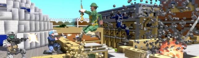 Blockstorm: un FPS a lo Minecraft
