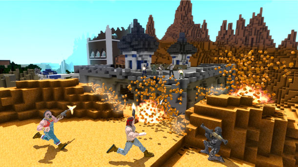 BlockStorm lleva el estilo Minecraft a la acción PvP