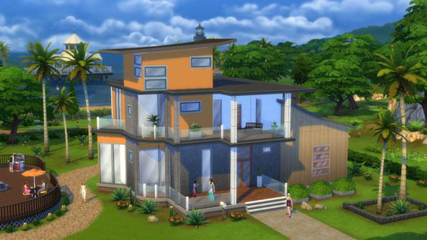 Los Sims 4 enseña el Modo Construir