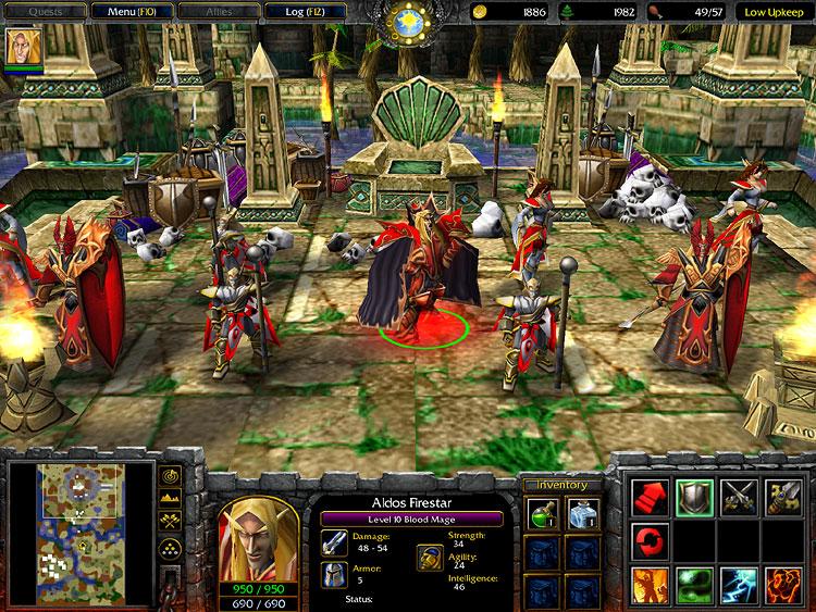 WarCraft III: The Frozen Throne - Blizzard - PC, Mac