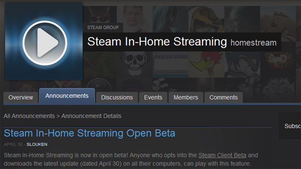 steaminhomestreaming