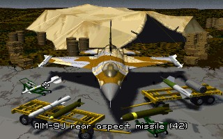 Strike Commander - Origin Systems ( DOS, FM Towns, Macintosh, PC-98, Windows)