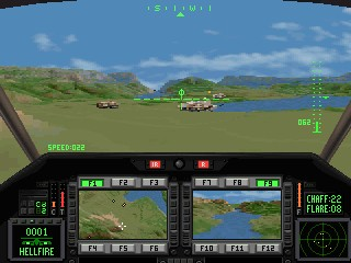Comanche: Maximum Overkill - Novalogic (DOS, Mac)
