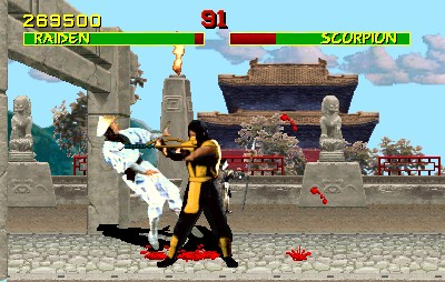Mortal Kombat - Midway (recreativa, Amiga, DOS, Game Boy, Game Gear, Genesis, SEGA CD, SEGA Master System, SNES)