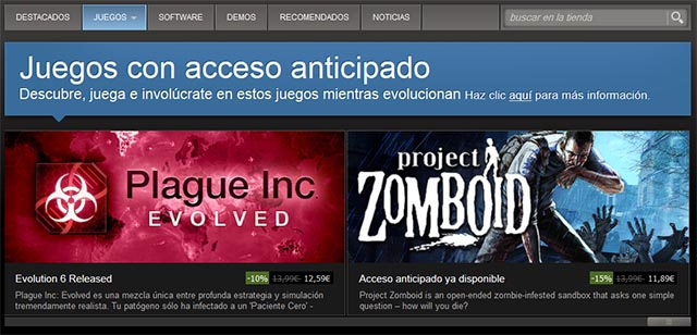 Acceso anticipado - Marketing de videojuegos